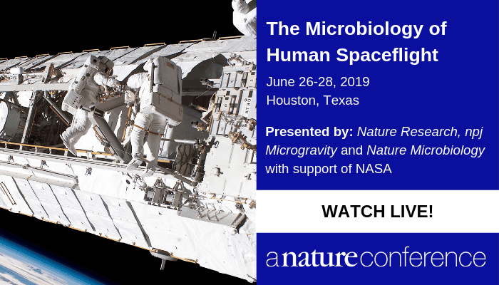 Livestream | The Microbiology of Human Spaceflight: A Nature Conference